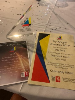 DYC programme, certificate and trophy